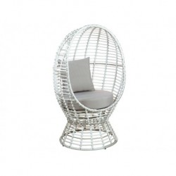 Chaise grille brune